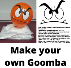 Make your own Goomba